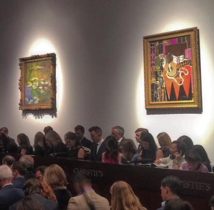 Christie's Showroom, via Art Observed