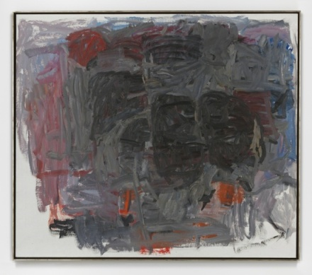 Philip Guston, Accord I (1962), via Hauser and Wirth