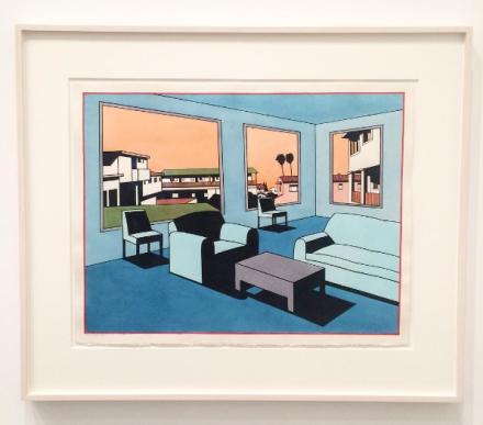 Ken Price, The Blue Interior (1993), via Art Observed