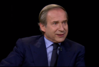Simon de Pury, via Charlie Rose