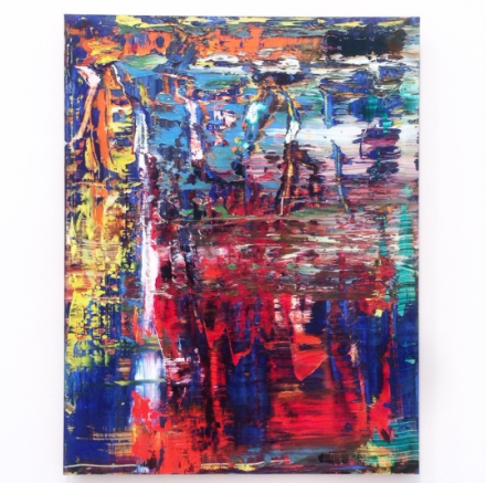 Gerhard Richter, 939-9 Abstraktes Bild (2015), via Art Observed