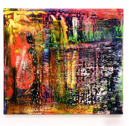 Gerhard Richter, 940-6 Abstraktes Bild (2015), via Art Observed