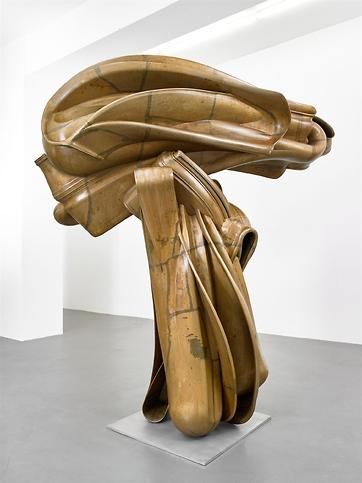 Tony Cragg, Stroke (2014), via Thaddaeus Ropac