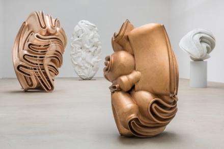 Tony Cragg, Sculptures (Installation View), via Thaddaeus Ropac