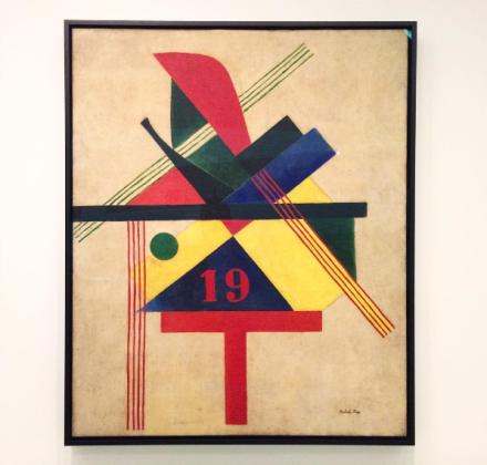 Laszlo Moholy-Nagy, 19 (1921), via Art Observed