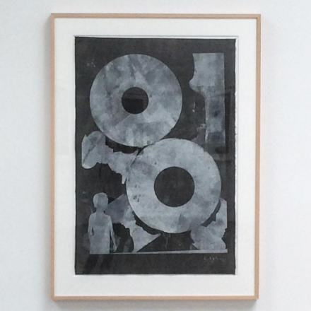 Jasper Johns, Untitled (2012), via Art Observed