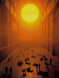 Olafur Eliasson at Tate Modern, via FT