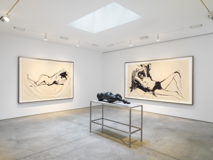 Tracey Emin: Stone Love Installation view, Lehmann Maupin,