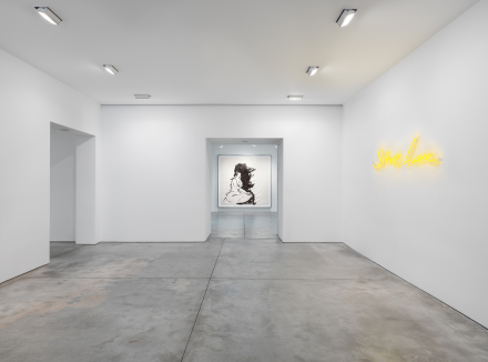 Tracey Emin: Stone Love Installation view, Lehmann Maupin