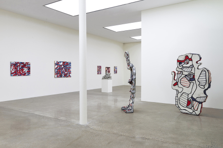 Jean Dubuffet, Late Paintings (Installation View)