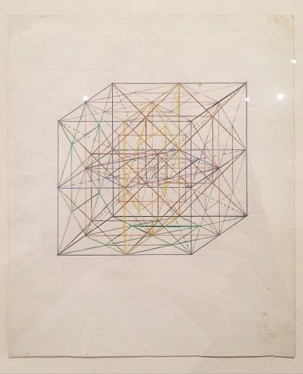 Georges Vantongerloo, Études (Constructions des Rapports des Volumes) (1919)
