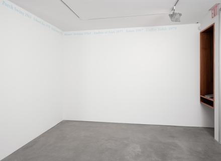 "Felix Gonzalez-Torres, ""Untitled"" (Portrait of Michael Jenkins) (1991), via Andrea Rosen"