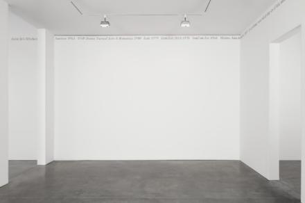 "Felix Gonzalez-Torres, ""Untitled"" (Portrait of Julie Ault) (1991), via Andrea Rosen"