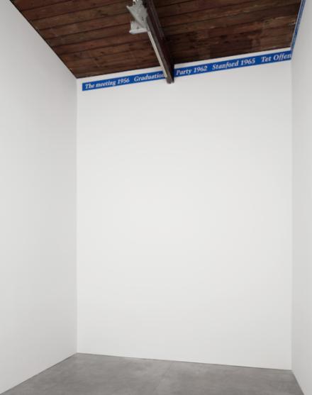 "Felix Gonzalez-Torres, ""Untitled"" (Portrait of The Wongs) (1991), via Andrea Rosen"