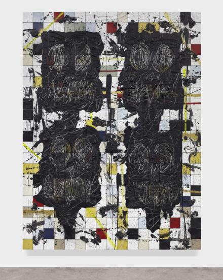 Rashid Johnson, Color Met (2015), via Hauser and Wirth