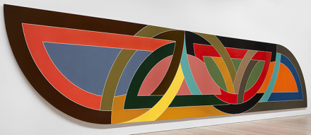 Frank Stella Damascus Gate (Stretch Variation I), (1970), via Marianne Boesky