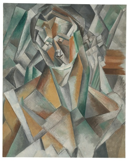 Pablo Picasso, Femme Assise (1909), via Sotheby's