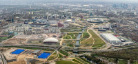 Queen Elizabeth Olympic Park, via Artforum