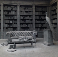 Hans Op de Beeck, The Collector's House (2016), via Andrea Nguyen for Art Observed