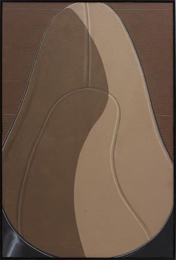Domenico Gnoli, Unside of Lady's Shoe (1969), via Phillips