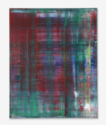 Gerhard Richter, Abstraktes Bild (811-2) (1994), via Christie's