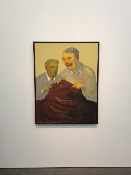 Nicole Eisenman, The Work of Labor and Care (2004), via Art Observed