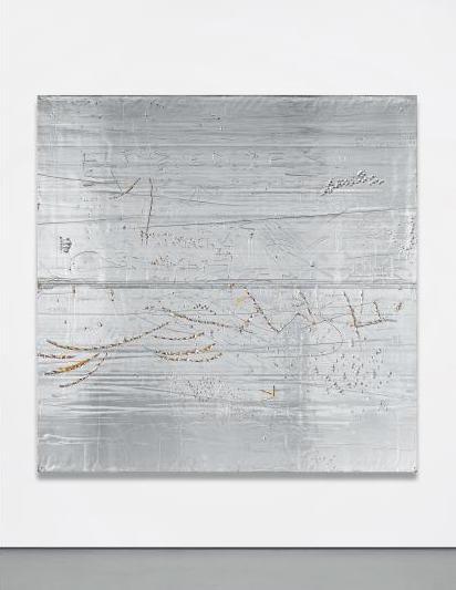 Rudolf Stingel, Untitled (Topolino) (2002), via Phillips