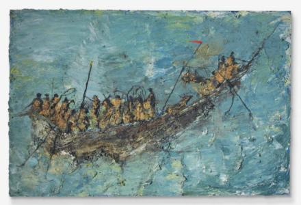 Miquel Barceló, Pinassi (1991), via Christie's