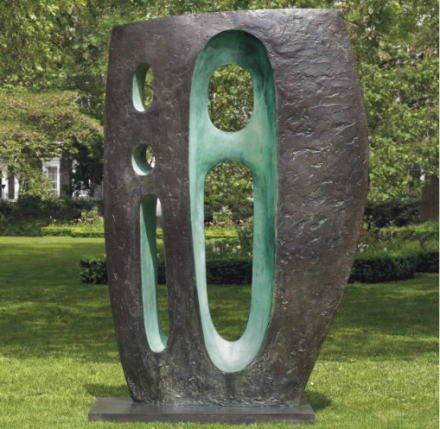 Barbara Hepworth, Sea Form (Atlantic) (1964), via Christie's