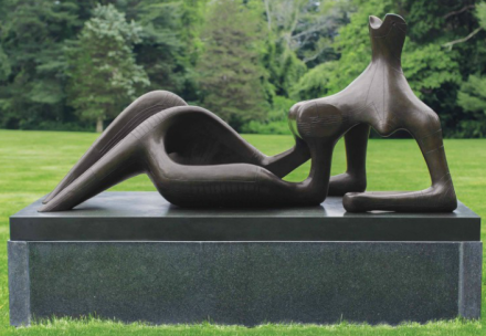 Henry Moore, Reclining Figure Festival (1951), via Christie's