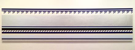 """Roy Lichtenstein, """"Entablature,"""" 1975, via Quincy Childs for Art Observed"""