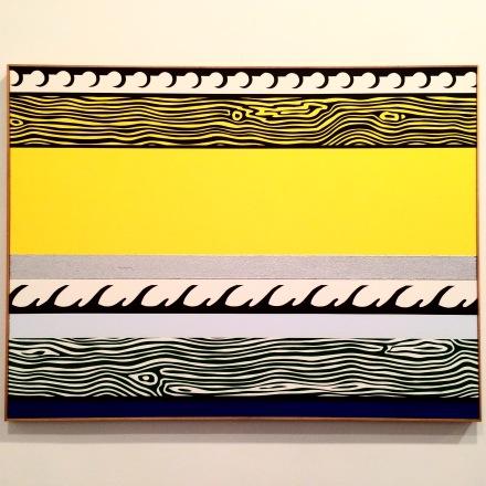 Roy Lichtenstein, Entablature (1975), via Quincy Childs for Art Observed