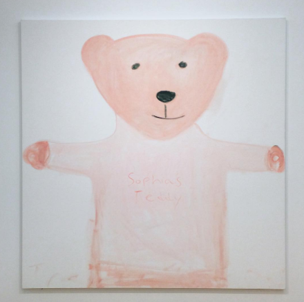 Trevor Shimizu, Sophia's Teddy (2016), via Art Observed