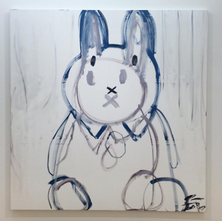 Trevor Shimizu, Miffy (2016), via Art Observed