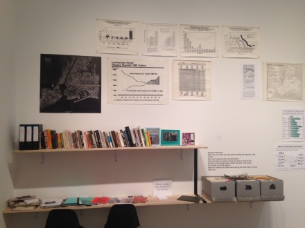 Martha Rosler, If You Can't Afford to Live Here, mo-o-ove!! at Mitchell-Innes & Nash (Installation View)