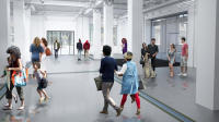 Rendering of Main Museum, via LA Times