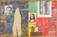 Jasper Johns, Racing Thoughts, via NYT