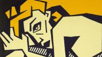 Lichtenstein's Reclining Nude, via LA Times