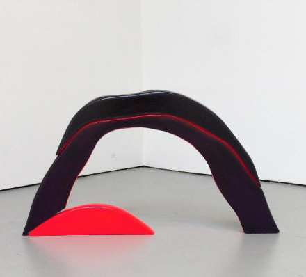 Colin O'Con, Magma Arch (2015), via Art Observed