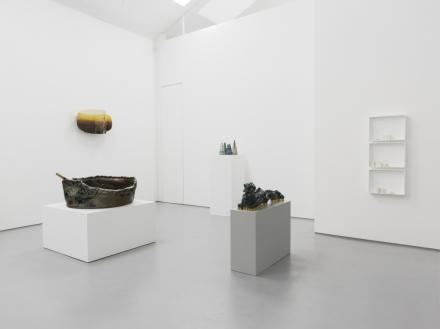 La Mia Ceramica (Installation View), via Max Hetzler