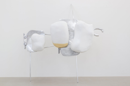 Nairy Baghramian, Scruff of the Neck 1, via Marian Goodman