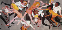 Faith Ringgold, American People Die, via Art News