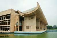 Palace of Assembly, Chandigarh, via Art Newspaper