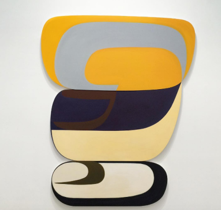 Joanna Poussette-Dart, 3 Part Variation #5 (2011-2013), via Art Observed