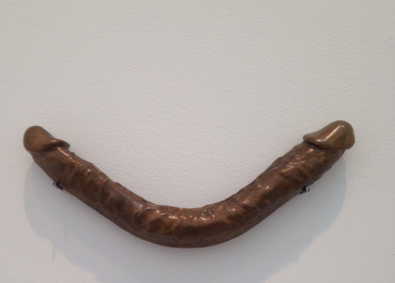 Lynda Benglis, Smile, 1974, via Art Observed