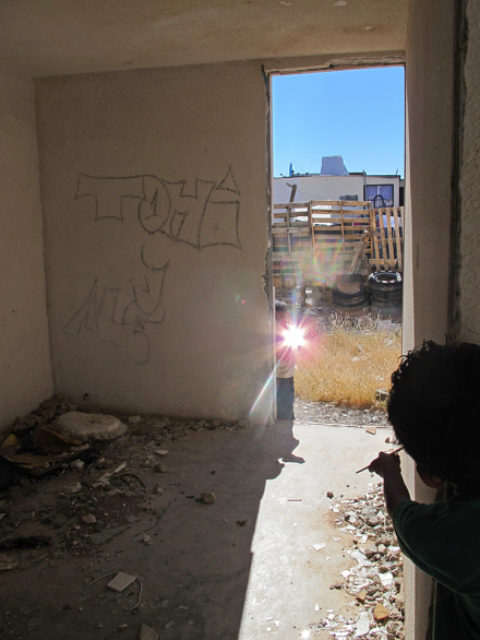 Francis Alÿs, Children's Game #15 Espejos, Ciudad Juárez, México, 2013 via David Zwirner