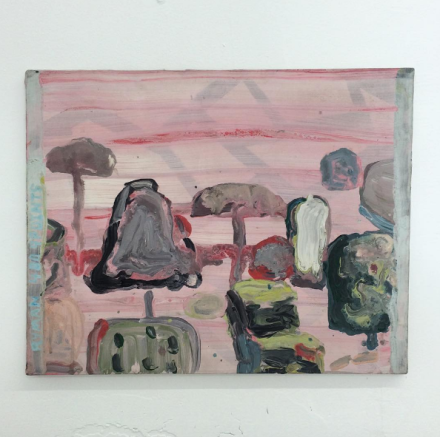 Brian Belott, Untitled (After Guston) (1995), via Art Observed
