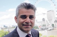 London mayor Sadiq Khan, via Stage