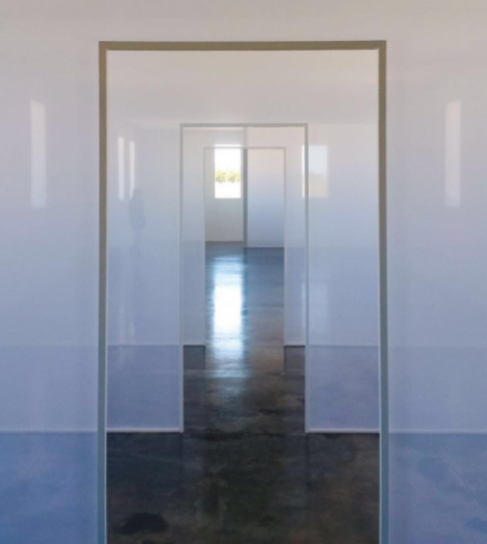 Robert Irwin, Dawn to Dusk (2016), via Art Observed