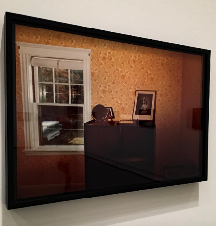 Nan Goldin, The Parents Wedding Photo, Swampscott, Massachusetts (1985), via Art Observed